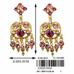 Jewelry Earring- X302079GA