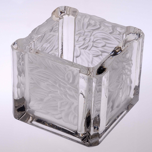 Glass Candle Holder- FL-001