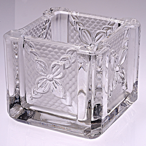 Glass Candle Holder- FL-008